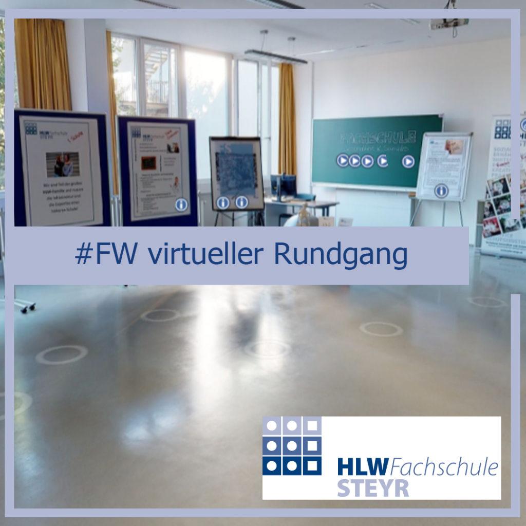 Virtueller Rundgang Raum Fachschule